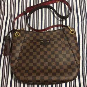 Louis Vuitton Damier Ebene South Bank Crossbody